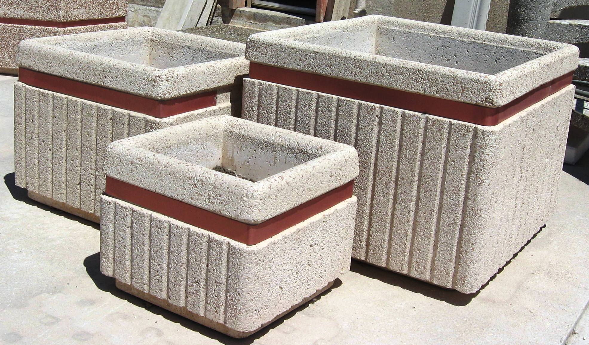 Fioriere pastore prefabbricati casamassima for Colonne quadrate decorative