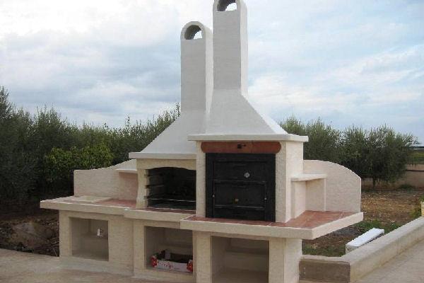 Lavandino, forno e barbecue